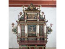 Billede 3: Gimsing kirkes altertavle