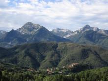 Breathtaking views of the Garfagnana Valley