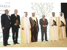 Hans Hassle awarded the Khalifa International Award for Agricultural Innovation