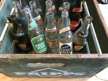 Drickaback med läsk från Värnamo Bryggeri.
