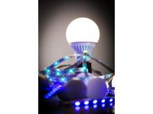 Smarta lampor och LED-strip