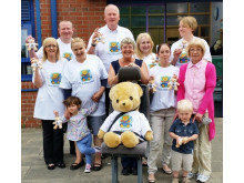 Staff and youngsters from Sandbrook Children's Centre joined the council to launch the campaign