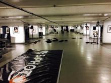 Rigging av Terry O'Neill utstilling i Tjuvholmen garasjen