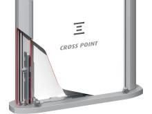 Larmbågar från Gate Security - Cross Point Fortus AM40