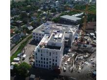 Tønsberg nye sykehus dronebilde
