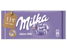 115 urodziny czekolady Milka