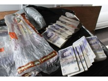 Op Magic NW24/15 Cash seized by HMRC in Rochdale