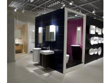 Massor av badrum i ny butik
