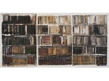 Lars Lerin / Bibliotek / Akvarell / 2009
