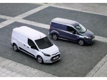 Nye Ford Connect med land og kort akselavstand vist på nyttekjøretøyutstillingen i Birmingham