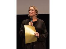 Julia Thelins film Brottas fick STOCKmotions stora pris. Foto: Katriina Mäkinen.