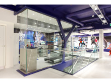 ASICS Flagship Store Stockholm Foot ID