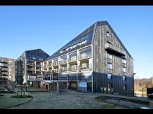 Plusenergihusen i Norra Djurgårdsstaden