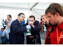 Kontrolmåling under Shell Eco-marathon