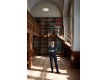 Emma Olbers Gamla biblioteket på Nationalmuseum