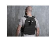 Battle Vest schwarz Model back 10031687