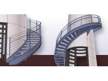 Förstärkta spiralkonstruktioner