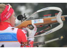 Karoline Erdal,skytebane, jaktstart ungdom kvinner, junior-vm2016