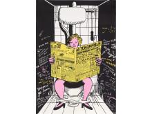 Marie-Louise Ekman, färgseriegrafisk affisch. Utrop: 3000 SEK