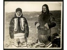 Polarforskeren Knud Rasmussen og etnografen Kaj Birket-Smith