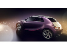 Citroën REVOLTe snett bakifrån