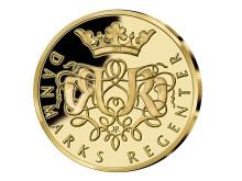 Jubileumsmedalj firar Dronning Margrethes 40 år på tronen
