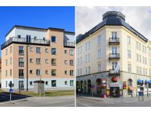 Brf Gräshoppan Årets byggnad och Uranus Årets renovering 2014
