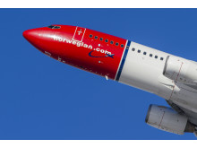 Norwegian 737-800 Aircraft. Foto: David Charles Peacock