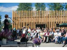 Nu är nya Torsby Finnskogscentrum invigt!