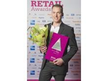 Vinnare Årets tekniska lösning, Retail Awards 2012, Stayhard