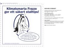 Sänk värmen i sadelkammaren och spar 4680 kronor om året - Frazzes klimattips del 6