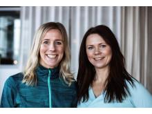 Miranda Ericsson & Therése Furudal Hydén leder helgen