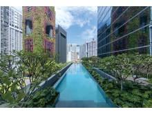 Sofitel Singapore City Center - infinity pool