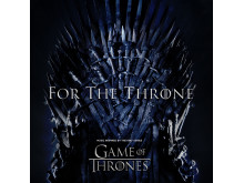 Albumomslag - For The Throne (Music Inspired by the HBO Series Game of Thrones)