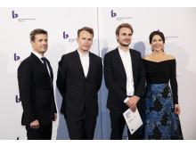 Tegnestuen Johansen Skovsted Arkitekter modtager Kronprinsparrets Stjernedryspris 2016