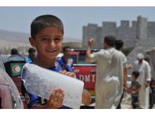 Flyktingströmmar i norra Irak