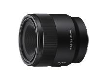 Sony lanceert full-frame 50mm F2.8 macro-objectief