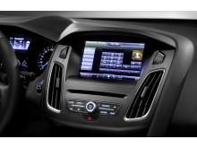 Uusi Ford Focus sisäkuva