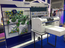 Epson Booth at Fespa2017