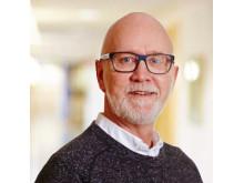 Förvaltaren Per Olsson på Bostads AB Poseidon tog fram de pedagogiska städtavlorna