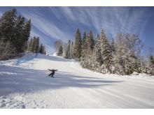 Mullsjö Alpin på snowboard