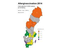 Allergivaccination 2014