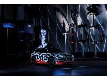 Audi e-tron prototype i Faraday bur (Siemens Schaltwerk Berlin)