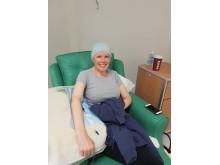Tara having chemo