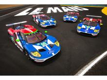 Ford forbereder seg til å «gi bånn gass»  i 24-timersløpet på Le Mans