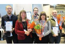 Vinnarna av Glaspriset 2016
