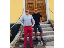 Erik O.R. Bengtsson och Christoffer Bonthron, Karlsfälts gård. Nominerade till Årets klimatbonde