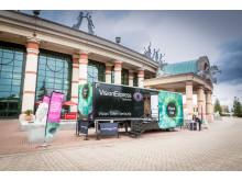 Eye health on the agenda as Vision Express Vision Van visits Manchester