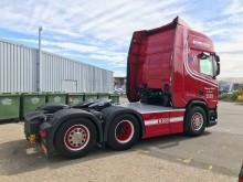Flemming Nielsen & Sønner's nye Scania R500 boogie trækker