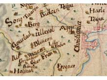 Kart fra 1757